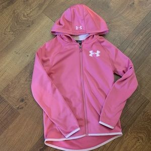 nwt girls under armour hoodie youth medium